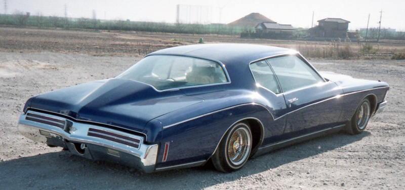 1973 Buick Riviera 455cid Lowrider ビューイック・リヴィエラ、リビエラ Speed Nuts